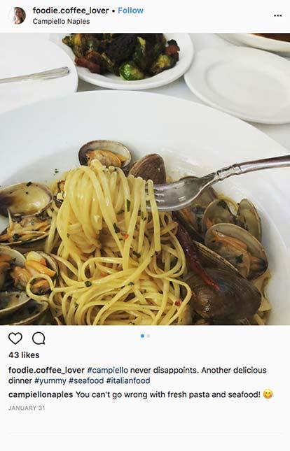 Social Campiello Naples #foodiecoffee_lover